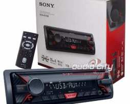 Autoestereo 1 Din Sony Dsx-a100u Usb Mp3 Android Megabass