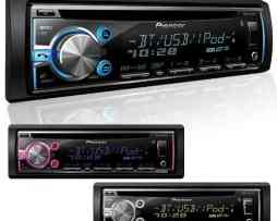 Autoestereo Pioneer Deh-x6700bt Colores Bluetooth Ipod New