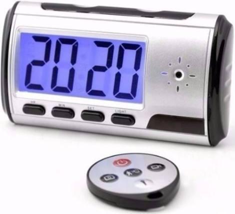 Camara Espia Alarma Reloj Despertador 32 Gb Hd Mini – Te212