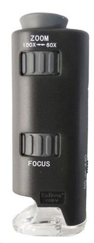 Microscopio Mini 60 – 100x Con Led
