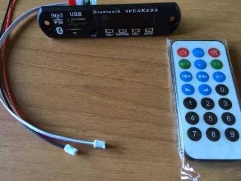 Modulo Reproductor De Audio Bluetooth