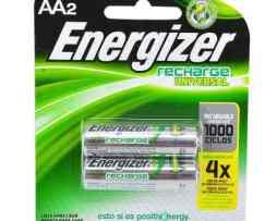 Pilas Energizer Aa 2000 Mah Nimh 1000 Recargas