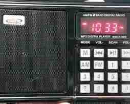 Radio 100% Digital Am/fm Usb Mp3 Recargable De Bolsillo