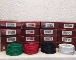 Rollo De Cable Calibre 10 Thw Con 100 Metros Alucobre