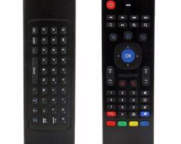 Air Fly Mouse Con Mini Teclado 2 En 1 Android Tv Box Windows