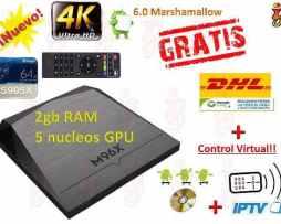 Android Tv Box Smart Tv 2gb Ram Ip Tv  Pelis+ Envio Gratis