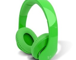 Audifonos Diadema Manos Libres Vorago Hp-204 Verde