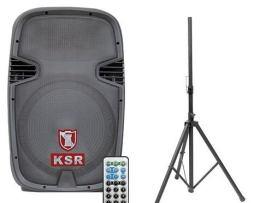 Bocina 15 Bafle Amplificado Kaiser Usb Fm Bluetooth Tripie