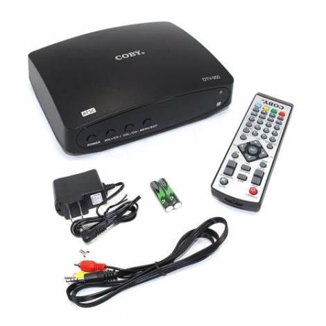 Decodificador Digital Con Botones Usb Full Hd Coby Dtv-950