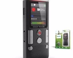 Grabadora De Voz Philips  Dvt2510 Mp3 Y Dos Mic Integrados
