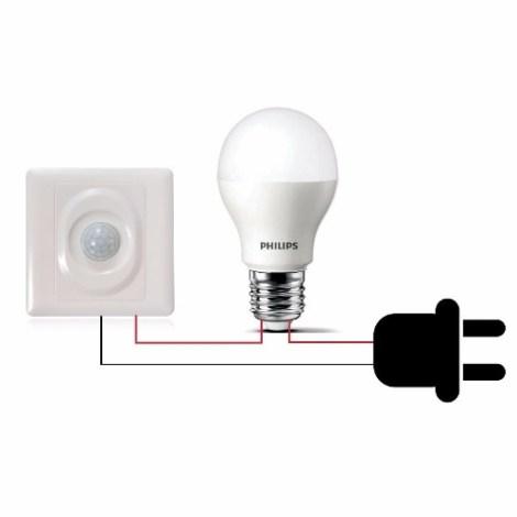 Interruptor Automático Pir Sensor Movimiento Jl-003b Arduino