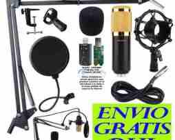 Kit Microfono Condensador Bm800