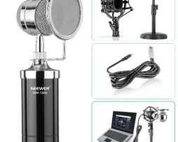 Kit Microfono Neewer Nw-1500 Escritorio Cable Stans Filtro