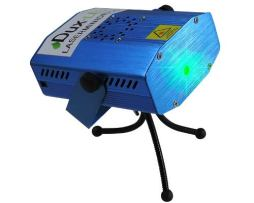 Mini  Proyector Laser Bi-color Audio Rítmico.
