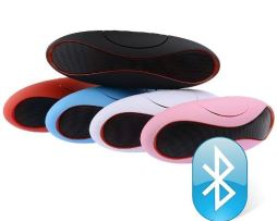 Oferta! Bocina Bluetooth 2015 Oval Usb Micro Sd 3.5 Mp3