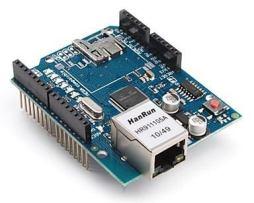 Tarjeta Ethernet Shield W5100 Arduino R3 Uno Mega 2560