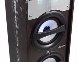 Velikka Bocina Bluetooth Micro Sd Radio Fm Usb Vkk-4016 Negr