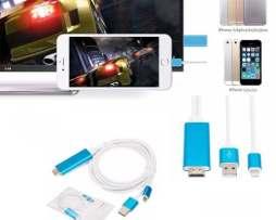 Adaptador Hdmi Iphone 5 6 7 Plus Ipad Mini Ipod 5 G-ca116