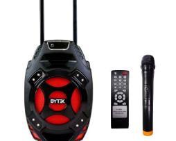 Bafle Bocina Amplificada 8 Recargable Bluetooth Y Microfono