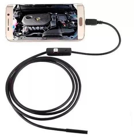 Endoscopio Boroscopio Usb Otg Con Audio Android Pc 5 Metros