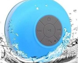 Bocina Contra Agua Bluetooth Recargable Waterproof Azul