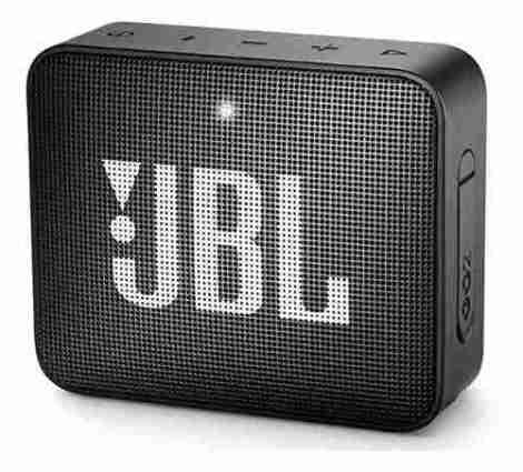 Bocina Jbl Go 2 Bluetooth Negra Metalica A Prueba De Agua