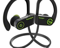 Audífonos Deportivos Bluetooth Hd Impermeables Ipx7 Negro