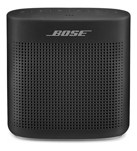 Bocina Bose Soundlink Color Ii Portátil Inalámbrica Soft Black
