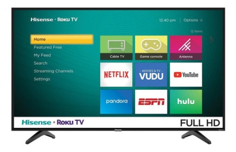 Smart Tv Hisense H4f Series  Full Hd 43  43h4030
