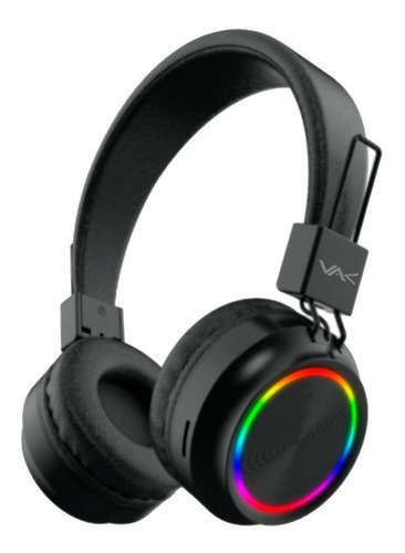 Audifonos Vak 2026 Bluetooth Fm Entrada Sd Aux Diadema Led