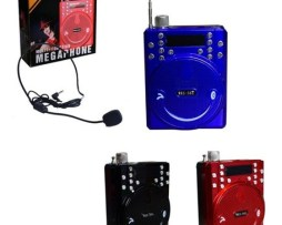 Bocina Megáfono Bluetooth Portátil Altavoz Con Sonrisa