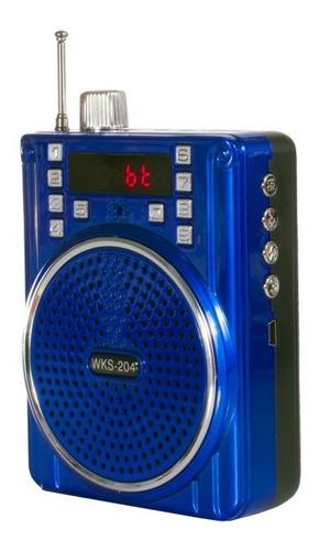 Bocina Bluetooth Barata Wks-204