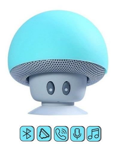 Bocinas Bluetooth De Hongo Bluetooth Color