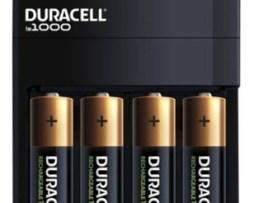 Cargador 4 Baterias Aa 2500mah Recargable Duracell Is1000