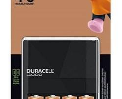 Cargador Duracell C/4 Pilas Aa De 2500mah