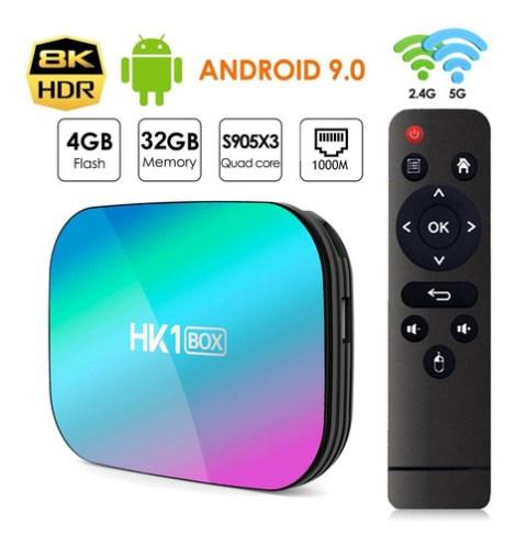 Decodificador De Tv S905x3 Android 9.0 4gb D/ram 32gb D/rom