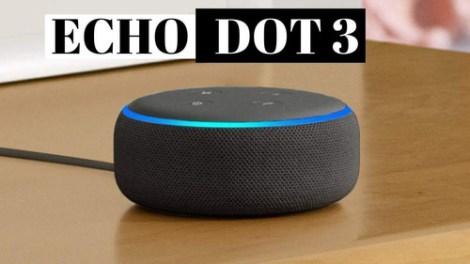Amazon Echo Dot Alexa 3ra Generacion Bocina Inteligente