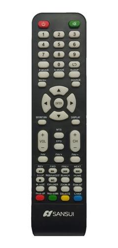 Control Remoto Pantalla  Sansui Smart Tv + Pilas