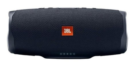 Bocina Jbl Charge 4 Portátil Con Bluetooth Black