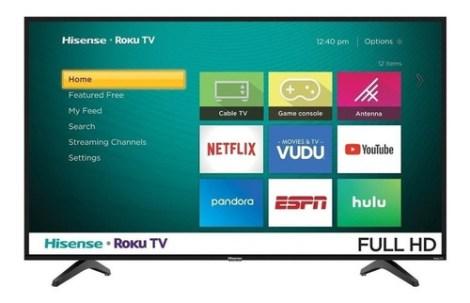 Smart Tv Hisense H4f Series 40h4030f Led Full Hd 40