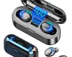F9 Bluetooth 5.0 Manos Libres Huellas Dactilares Auriculares
