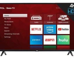 Smart Tv Tcl 4-series 55s425 Led 4k 55  110v