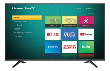 Smart Tv Hisense R6 Series 43r6e Led 4k 43  120v