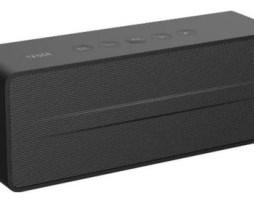 Bocina Tedge Bluetooth 6w Portátil Negra 110v/220v