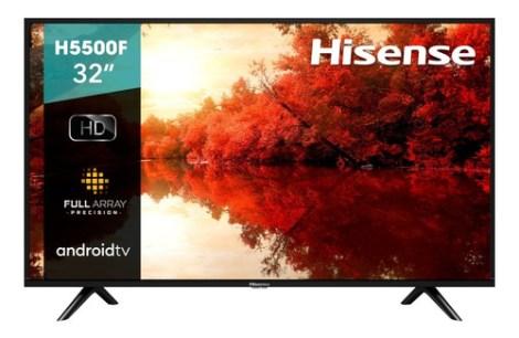Pantalla Hisense 32  H5500f Android Tv