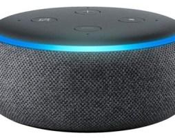 Amazon Echo Dot 3rd Gen Con Asistente Virtual Alexa Charcoal 110v/240v