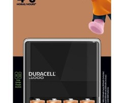 Cargador Duracell C/4 Pilas Recargables Aa De 2500mah