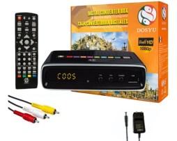 Convertidor 03 Decodificador Digital Señal Analoga Hd  Dosyu