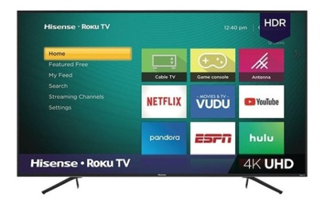 Smart Tv Hisense R6 Series 65r6e Led 4k 65