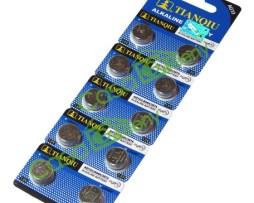 10 Pilas Lr44 Lr44h 357 357a Ag13 Tianqiu Baterias Original